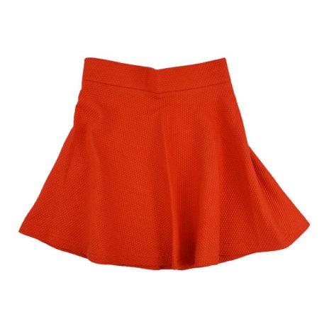 Ba*Ba Full Circle Skirt Jacquard Red Dots
