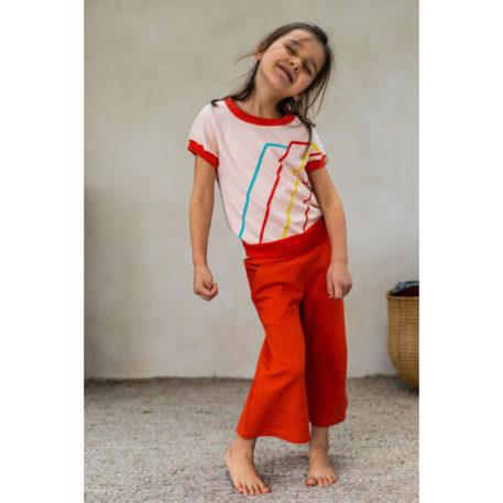 Ba*Ba Girls Culotte Jacquard Red Dots
