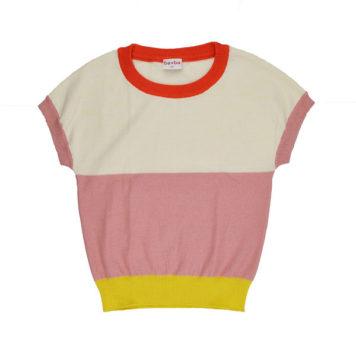Ba*Ba Girls Knitted Shirt Sweet Rose