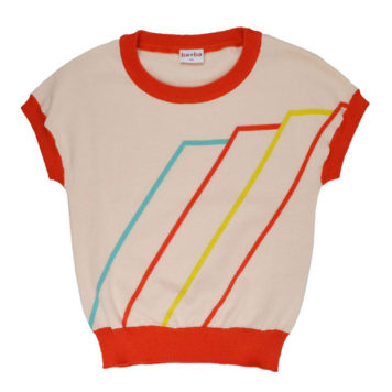Ba*Ba Girls Knitted Shirt Triangle