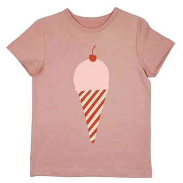 Ba*Ba Girls T-shirt Icecream