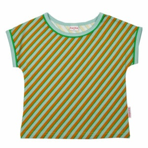 Ba*Ba Multicolor Shirt Diagonal Blue