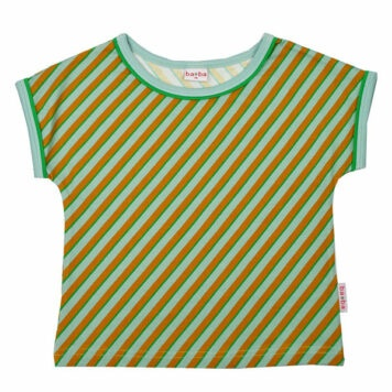 Ba*Ba Multicolor Shirt Diagonal Blue