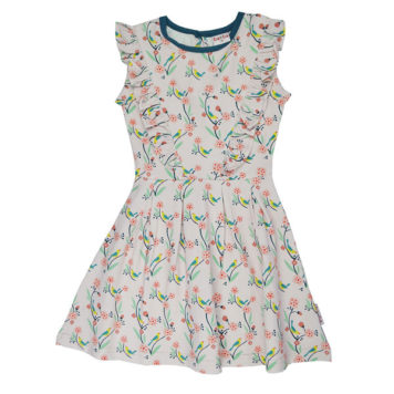 Ba*Ba Ruffle Dress Birds