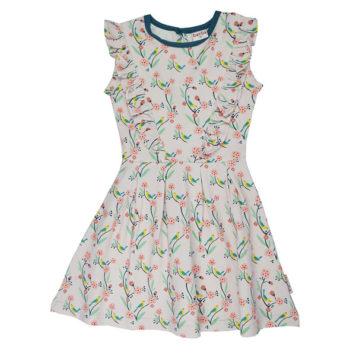 Ba*Ba Ruffle Dress Birds