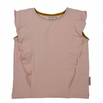 Ba*Ba Ruffle Shirt Peach