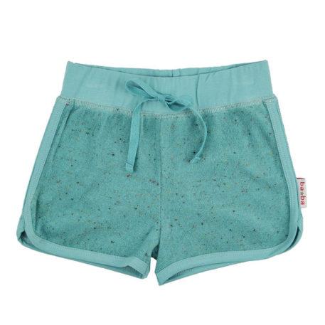 Ba*Ba Short Speckled Terry Aqua