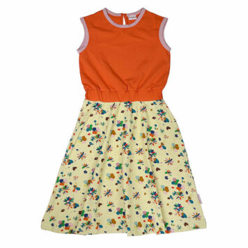 Ba*Ba Smockdress Long Flower Field