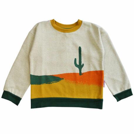 Ba*Ba Unisweater Jacquard Cactus
