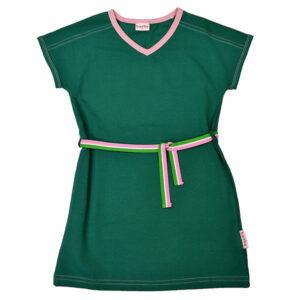 Ba*Ba V-Neck Dress Evergreen