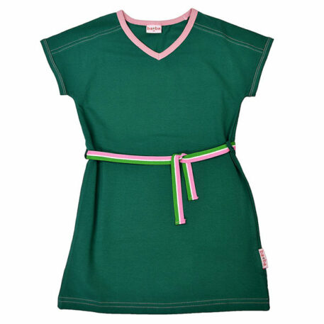 Ba*Ba V-Neck Dress Evergreen