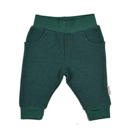 Baba Babywear Baby Baggy Pique Bicolor Green