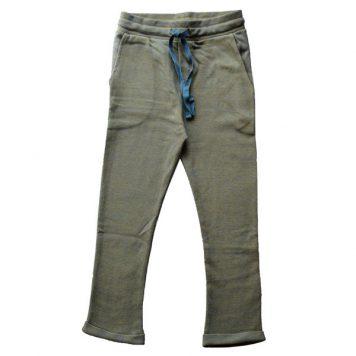 Baba Babywear Baggy Pants Bicolor Blue Pique