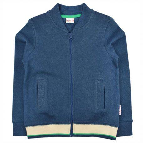 Baba Babywear Bomberjacket Jacquard Blue