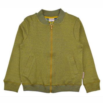 Baba Babywear Bomberjacket Pique Bicolor Mustard