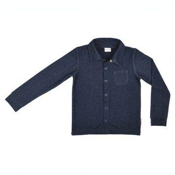 Baba Babywear Boys Shirt Denim Blue