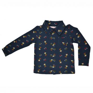 Baba Babywear Boys Shirt Skaters
