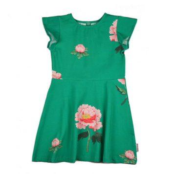 Baba Babywear Butterfly Dress Peonies