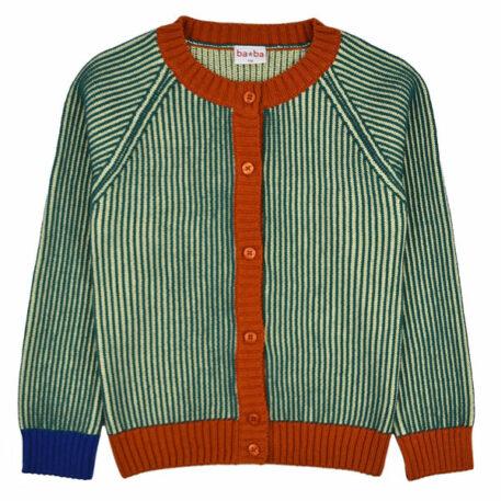 Baba Babywear Cardigan Ali Pacific Stripes