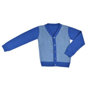 Baba Babywear Cardigan Boy Bicolor Blue