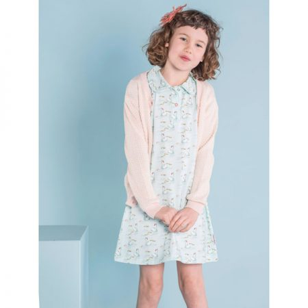 Baba Babywear Cardigan Girl Bicolor Pink