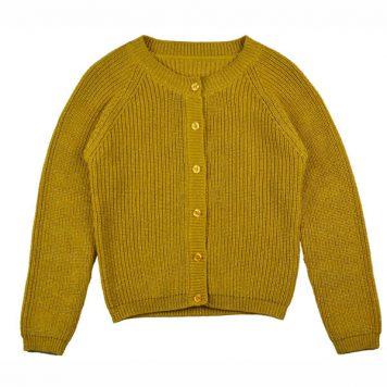 Baba Babywear Cardigan Mustard