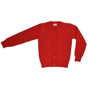Baba Babywear Cardigan Red