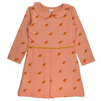 Baba Babywear Collar Dress Birds