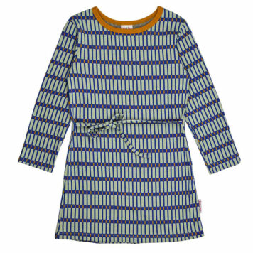Baba Babywear Dress Long Sleeves Jacquard Raster