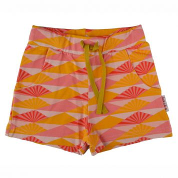 Baba Babywear Girls Short Sunset