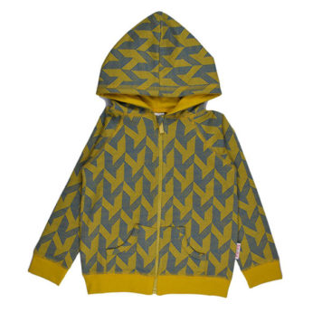 Baba Babywear Hoodie Geometric
