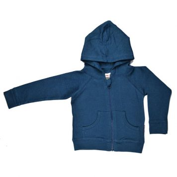 Baba Babywear Hoody Double knitted Stripes