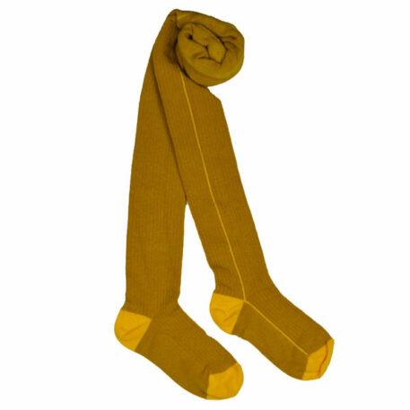 Baba Babywear Kousenbroek Yellow Stripe