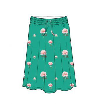 Baba Babywear Long Skirt Peonies