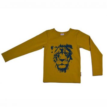 Baba Babywear Longsleeve Lion Yellow