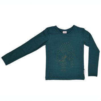 Baba Babywear Longsleeve Little Girl Dark Green