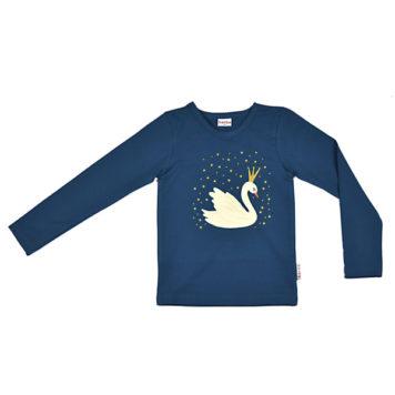 Baba Babywear Longsleeve Swan Dark Blue