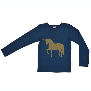Baba Babywear Longsleeve Unicorn Dark Blue