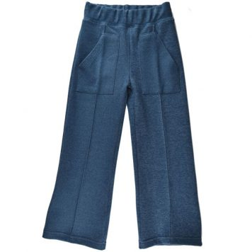 Baba Babywear Pocketpants Jacquard Blue
