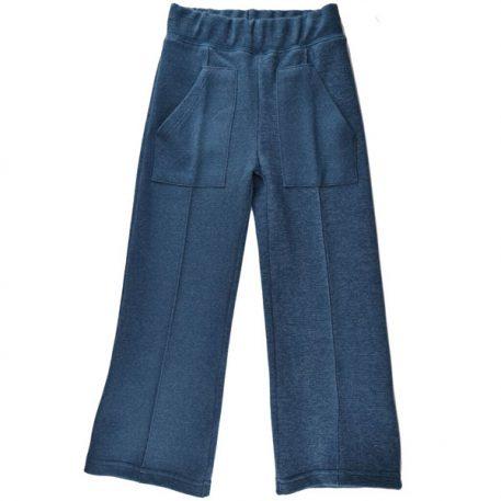 Baba Babywear Pocketpants Jacquard Blue