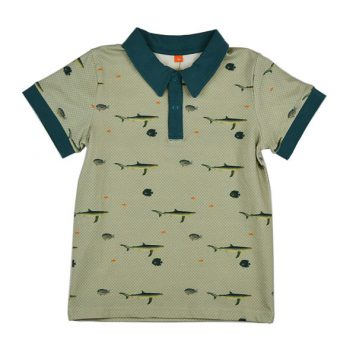 Baba Babywear Polo Fish