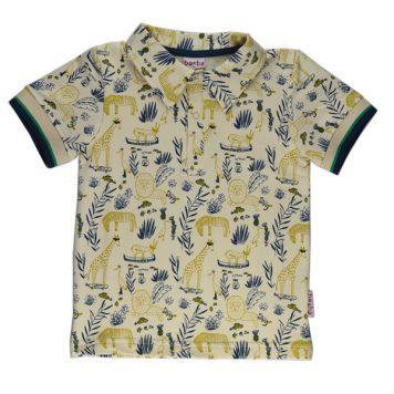Baba Babywear Polo Shirt Boys Jungle