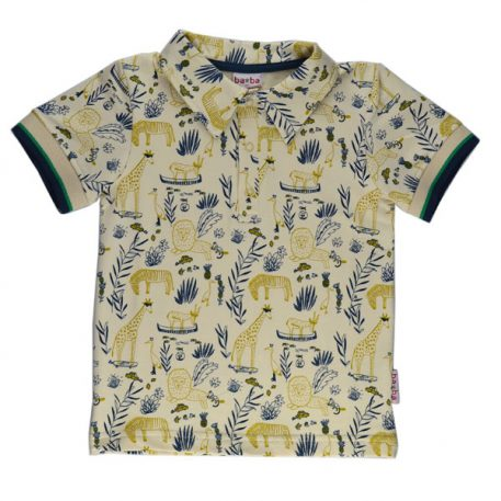 Baba Babywear Polo Shirt Boys Jungle