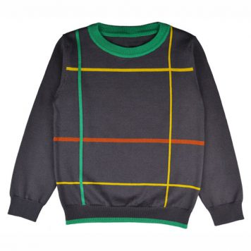 Baba Babywear Pullover Boys Checked