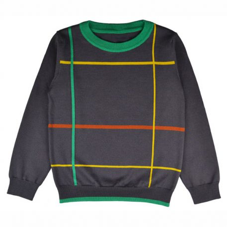 Baba Babywear Pullover Boys Checked