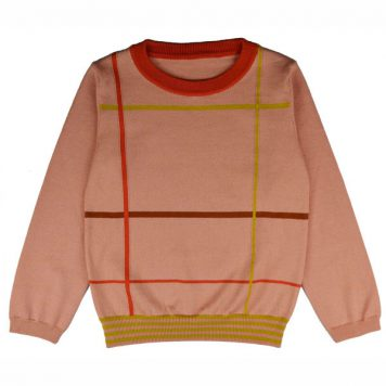 Baba Babywear Pullover Girls Checked