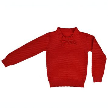 Baba Babywear Pullover Red