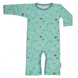 Baba Babywear Rompersuit Swans
