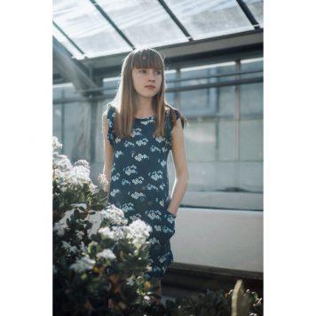 Baba-Babywear-Ruffle-Dress-Julia-Blue-SS18