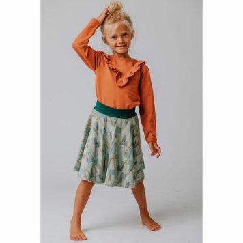 Baba Babywear Ruffle Shirt Autumnal